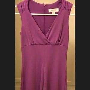 Purple Isaac Mizrahi for Target midi dress
